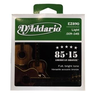 Bộ 6 dây đàn acoustic D'addario EZ890
