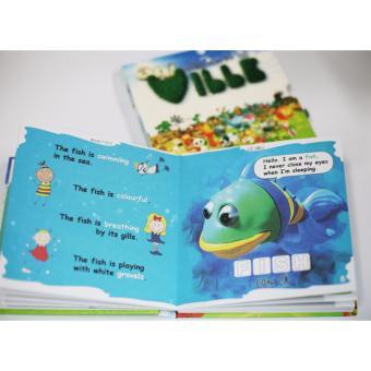 Sách học tiếng Anh 3D Nông trại kỳ thú Aniville tư duy cho bé