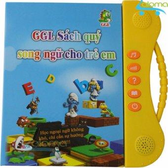 Sách nói song ngữ Anh Việt cho trẻ 2-10 tuổi GGL-SN