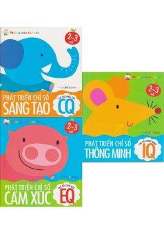 Miếng Dán Thần Kì - Bộ 3 Tập (2-3 tuổi)