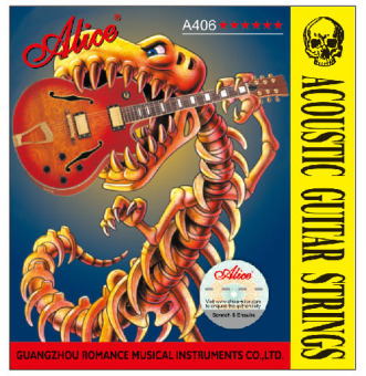 Dây đàn guitar acoustic Alice Strings-A406