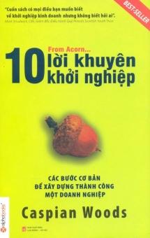 10 Lời Khuyên Khởi Nghiệp (Tái Bản 2014) - Thanh Hằng,Caspian Woods