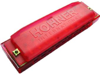 Kèn harmonica Hohner Happy harp red M5154 (Đỏ)