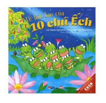 Ehon Bộ 6 cuốn - 10 Chú Ếch (4-7 tuổi) Bộ 2