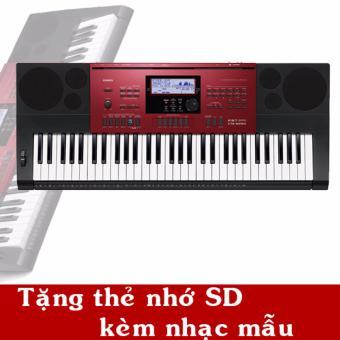 Đàn organ Casio CTK-6250 tặng thẻ nhớ SD có nhạc mẫu