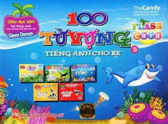 Flash Card - 100 Từ Vựng Tiếng Anh Cho Bé - The Candy