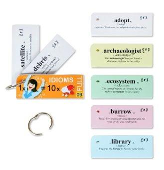 Flashcard Oxford 500 thành ngữ tiếng Anh quan trọng cần học (mã 09A)
