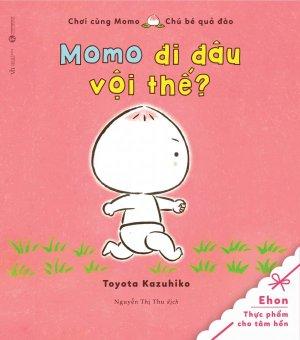 Ehon - Chơi Cùng Momo - Chú Bé Quả Đào (Momo Đi Đâu Vội Thế?) - Toyota Kazuhiko,Nguyễn Thị Thu