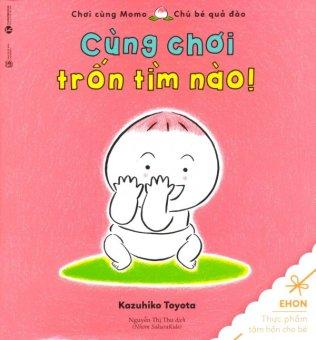 Ehon - Chơi Cùng Momo - Chú Bé Quả Đào (Cùng Chơi Trốn Tìm Nào!) - Toyota Kazuhiko,Nguyễn Thị Thu