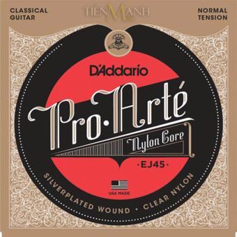 Bộ Dây Đàn Guitar Classic D'Addario EJ45