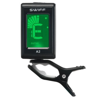 Chromatic Clip-On 3V A2 Tuner for Acoustic Electric Guitar Bass Violin - intl