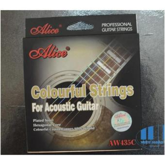 Dây đàn Guitar Acoustic Alice AW435C Colorful Strings