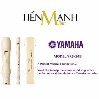 Sáo Recorder Soprano Yamaha YRS-24B - Recoder (Có tem chống hàng giả bộ CA)