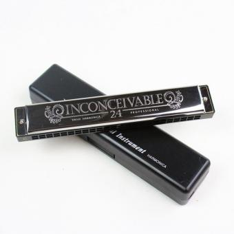 Kèn harmonica SWAN 24 lỗ - đen
