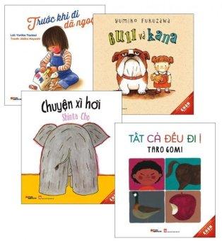 Bộ 4 cuốn sách Ehon Nhật Bản - Dành Cho Trẻ Từ 3-8 Tuổi - Nhiều tác giả,Nhiều dịch giả