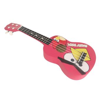 Đàn ukulele Soprano AQ09 (Hồng)