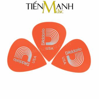Combo 3 móng gẩy dày 0.6mm D'Addario Pick chính hãng 6DOR2 (Cho Đàn Guitar, Ukulele, Mandolin, Nguyệt...)