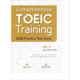 Comprehensive Toeic Tgaining 1000 Pgactice Test Items (Vol 4) - Kèm CD
