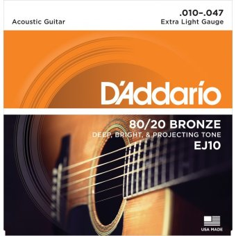 Dây guitar acoustic D'addario EJ10