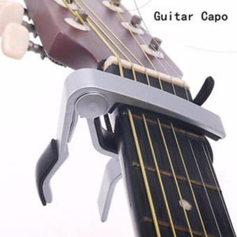 Capo guitar (màu bạc)