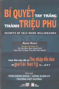 Bí Quyết Tay Trắng Thành Triệu Phú - Adam Khoo và Nhiều dịch giả