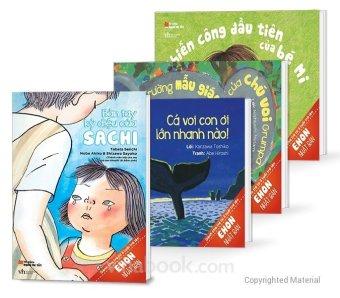 Bộ 4 cuốn truyện Ehon (Tái Bản) - Nhiều tác giả