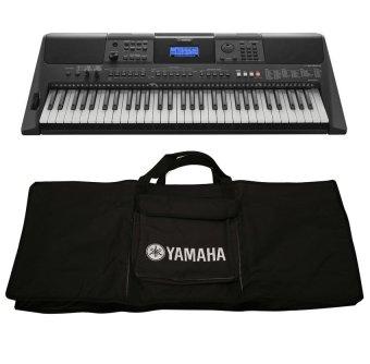 Bộ đàn Organ Yamaha PSR-E453 và Bao đàn Organ Yamaha 2 lớp (Đen)