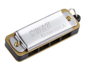 Kèn harmonica mini Swan SW4D (Bạc)