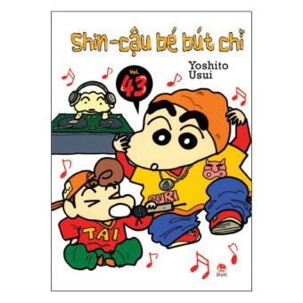 Shin - Cậu Bé Bút Chì (Tập 43) - Yoshito Usui