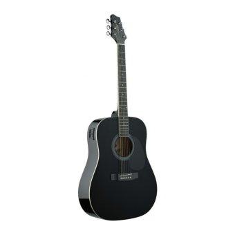 Đàn Guitar Acoustic Stagg SW201BK (Dáng tròn)
