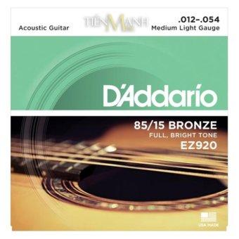 Bộ Dây Đàn Guitar Acoustic D'Addario EZ920