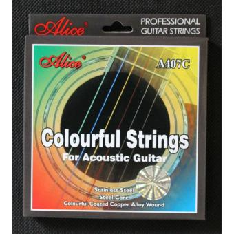 Dây đàn Guitar Acoustic A407C Colourful Strings