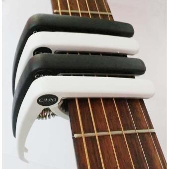 Capo dùng cho Acoustic và Ukulele ( màu đen, màu trắng)