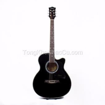 Đàn Guitar Acoustic Ostar Black MC40BK cho người mới tập chơi(Đen)