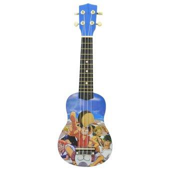 Đàn ukulele đảo hải tặc (Xanh)