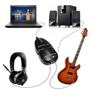 Cable USB Guitar Link kết nối đàn guitar với máy tính
