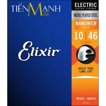 Bộ Dây Đàn Guitar Electric Elixir 12052