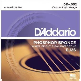 Dây guitar acoustic D'addario EJ26