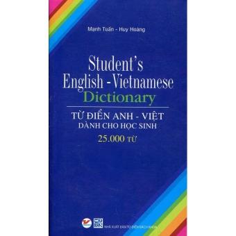Từ điển Anh - Việt dành cho học sinh 25.000 từ (T.V)