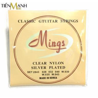 Bộ Dây Đàn Guitar Classic Mings 2843