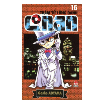 Thám Tử Lừng Danh Conan - Tập 16 (Tái Bản 2014) - Aoyama Gosho