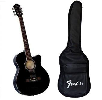 Bộ đàn guitar acoustic Vines VA3910BK + Bao đàn guitar 03 lớp SOL.G