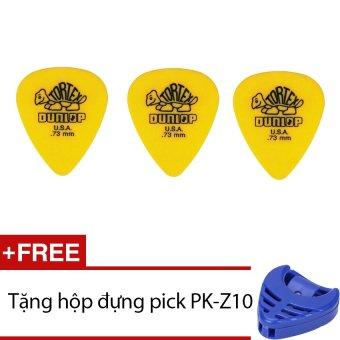 Bộ 3 Móng Gảy Dunlop 4180 (Vàng) + Tặng hộp đựng pick PK-Z10