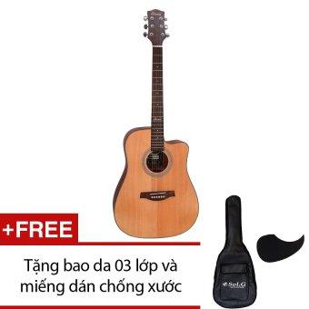 Đàn guitar acoustic Diana D816NM + Tặng 1 bao da 03 lớp và 1 miếng dán chống xước