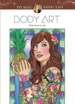 Sách tô màu dành cho người lớn Body Art - Marty Noble