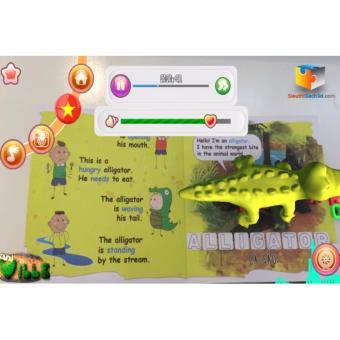 Sách tiếng Anh Nông trại kỳ thú AniVille 3D phát triển cho bé