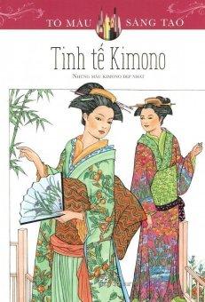 Sách Tô Màu Dành Cho Người Lớn: Tinh Tế Kimono – Ming-Ju Sun