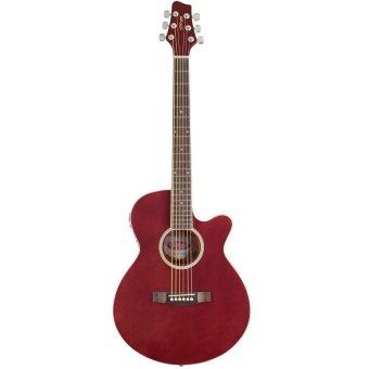 Đàn guitar acoustic- electric Stagg SW206 CETU TR (Nâu đỏ)