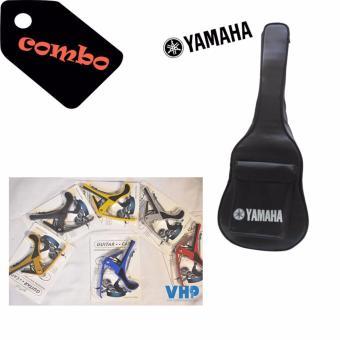 Bao da Guitar Yamaha 3 lớp + Capo thép chống gỉ