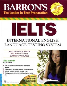 Barron's IELTS International English (Kèm 2 CD) - Tái Bản 2016 - Dr. Lin Lougheed